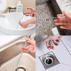 Bathroom Kitchen Spring Sewer dredging tool